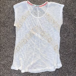Lace top from Maurices